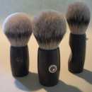 3 hardwood brushes