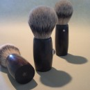 3 hardwood brushes - bottom view